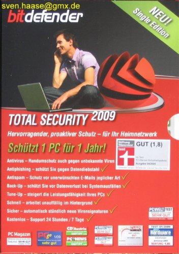 BitDefender Total Security 2009 Single Edition 1 Platz [import allemand]