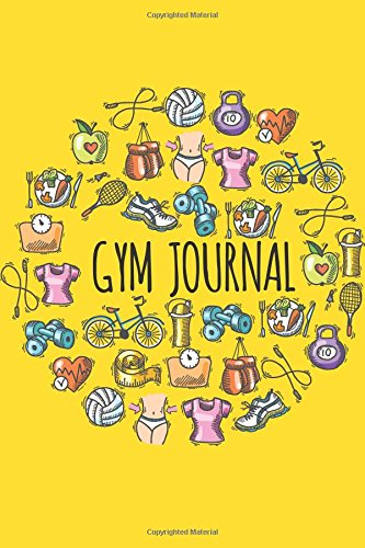 Gym Journal: Undated For Record Daily Workout Log Notebook 6'x9' - Fitness Journal Log Book: Gym Journal: Volume 7