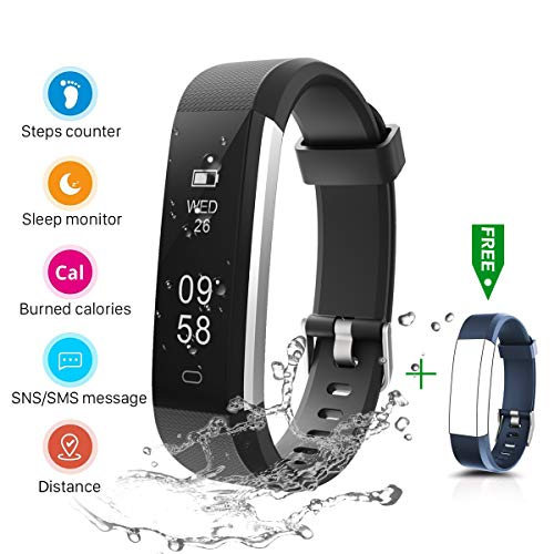 CHEREEKI Fitness Tracker + Free strap at 11 € with Amazon coupon