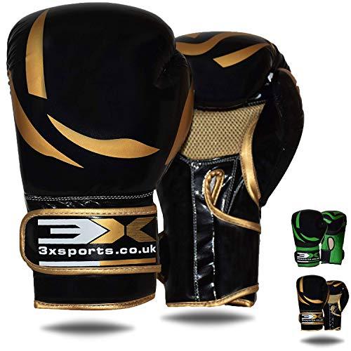 Gants De Boxe Pour L'entraînement 8oz 10oz 12oz 14oz 16oz Gants De Boxe Muay Thai Mitaines De Sac De Frappe Pour Le Sparring Les Arts Martiaux Le Kickboxing Le Combat Le MMA Gants Heavy Bag Focus Pads
