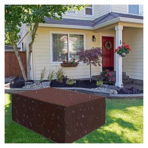 ZSEFV Outdoor Furniture Covers Waterproof Garden Furniture Cover, Waterproof Heavy Duty 420D Oxford Cloth Terrace Table Covers Anti-UV Outdoor Tables and Chairs Combination Set