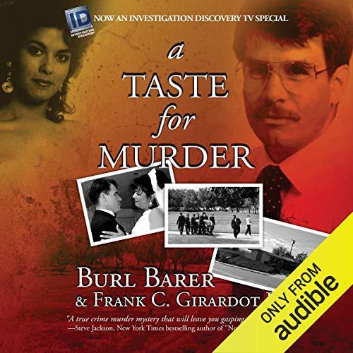 A Taste for Murder audiobook cover art