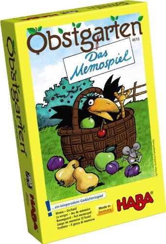 HABA 4610 Mitbringspiel Mini - Obstgarten - Das Memo-Spiel