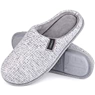 Classical Women's Slipper - Waffle knit upper and lined with coral velvet which keeping your slipper skin-friendly and breathable, relax your feet Exquisite Details - The overlapped tops and a pedal design are stylish and simple, and easy to put on a...