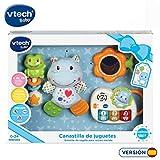 VTech - Canastilla de juguetes, estuche de regalo para bebé recién nacido que...