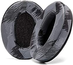 WC Wicked Cushions Upgraded Replacement Earpads for ATH M50X - Fits Audio Technica M40X / M50XBT / HyperX Cloud & Cloud 2 / SteelSeries Arctis 3/5 / 7 / 9X & Pro Wireless/Stealth 600 | (Anthracite)