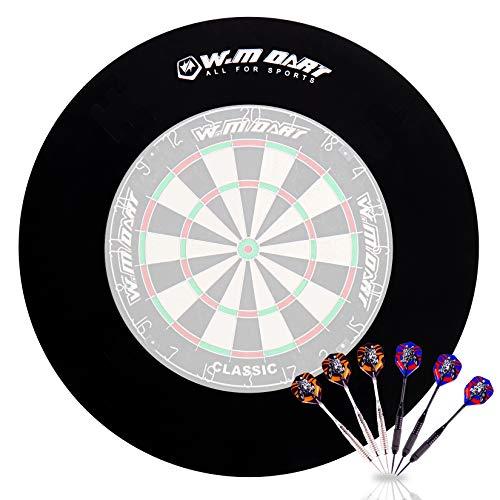 WIN.MAX Dart Catchring Surround Auffangring Dart Backboard Auffangring Rund Dart Surround Eva Dartscheibe (Innendurchmesser 455mm)
