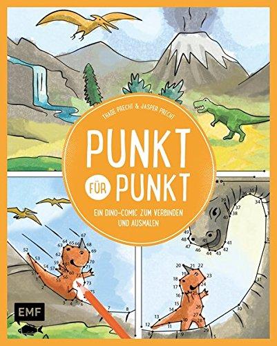 Punkt für Punkt – Ein Dino-Comic zum Verbinden und Ausmalen
