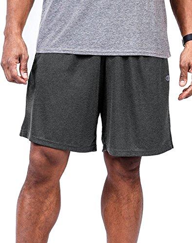Champion Big & Tall Mens Jersey Knit Short, Oxford Grey, 4XL