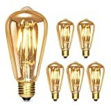 Albrillo Edison Vintage Glühbirne E27 - Dimmbar 4W 280...