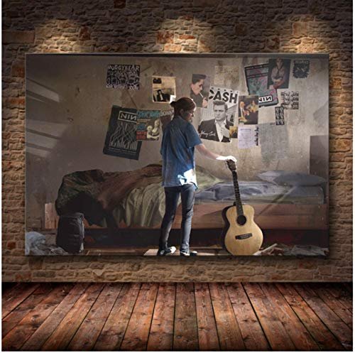 Liuheng Póster del Juego The Last of Us Print Zombie Survival Horror Action HD Poster Canvas Painting Modern Home Decor For Wall Art 50x70cm Q-116