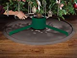 WeatherTech Christmas Tree Mat Cocoa - Heavy-Duty Christmas Tree Floor Protector