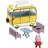 Peppa Pig – Le Camping-Car et Peppa – Véhicule et Figurine 5cm (Import Royaume...