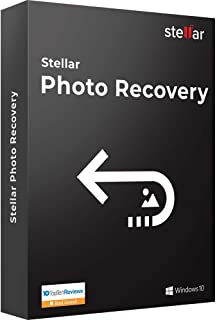 Stellar Photo Recovery Software | For Windows | Standard | Recover Lost or Deleted Photo, Audio, Video | 1 Device, 1 Yr Subscription | CD