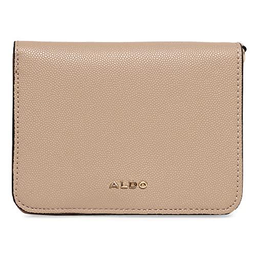 ALDO womens ALDO Women s Dwendassa Wallets Bags, Dark Beige, WALLET US