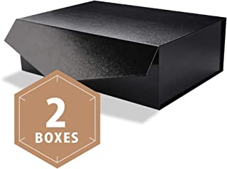 Best glossy black gift boxes Reviews