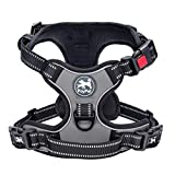 PoyPet No Pull Dog Harness, No Choke Front Lead Dog Reflective...