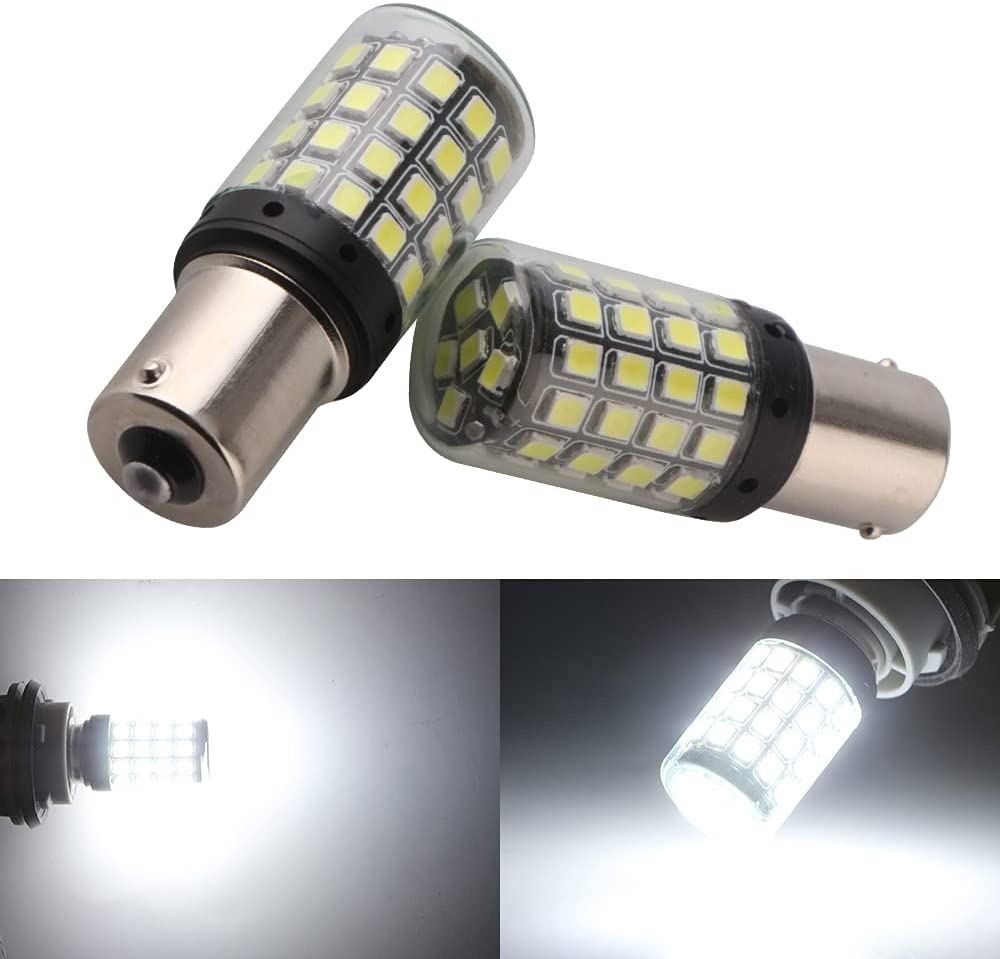 Qasim 2-Pack White 1156 sale 1141 1003 LED Bulbs BA15S 3030 54-S A surprise price is realized 7506
