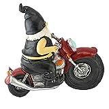 Design Toscano Dekofigur Biker mit Lederjacke, Maße: 14 x 34,5 x 28 cm - 4