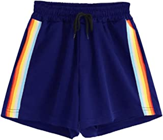 c14a74b6dc90 Amlaiworld Donne Pantaloni Estivi Donna Sport Pantaloncini Elastici per Lo  Yoga Shorts giuntati