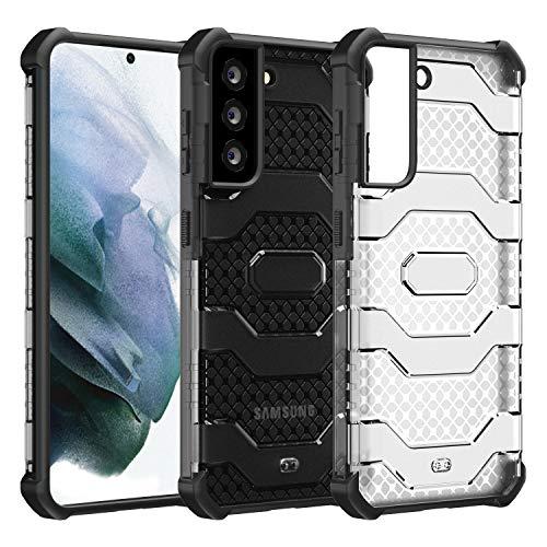 Restoo Funda para Samsung Galaxy S30/S21, antideslizante, resistente a los golpes, con protección de cuerpo completo, resistente para Samsung Galaxy S30/S21 5G 2021, color negro