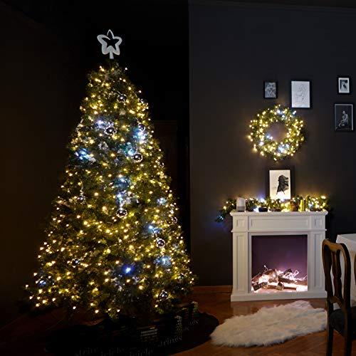 Twinkly Catena Luminosa Edizione Gold con 400 LED Cambiacolore di 32 metri per Esterni