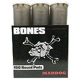 Maddog 150 Round Bones Paintball Pod - Smoke - 6 Pack