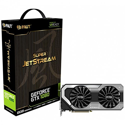 Palit GeForce GTX 1080Super Jetstream 8GB GDDR5X 2560Core VR bereitGrafikkarte