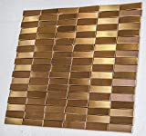 Kingston Mosaics and Tiles (oro rosa HEX-02) azulejo de...