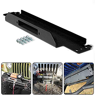 RUGCEL WINCH Cradle Winch Mounting Plate, Winch Mount Recovery Winches