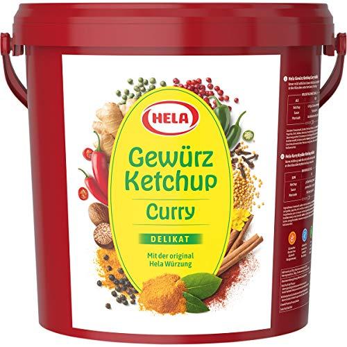 Hela Curry Gewürz Ketchup Delikat mit orignaler Würzung 10000ml
