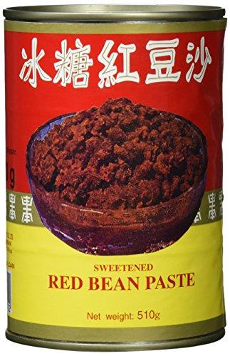 gesüßte rote Bohnenpaste