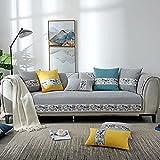 Funda de sofá Reversible Protector de Muebles Funda de sofá con...