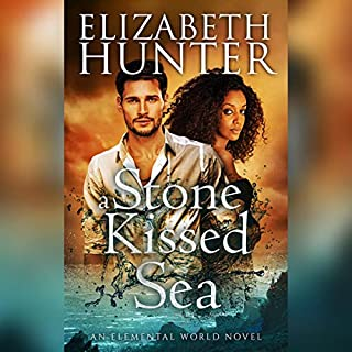 A Stone-Kissed Sea audiobook cover art