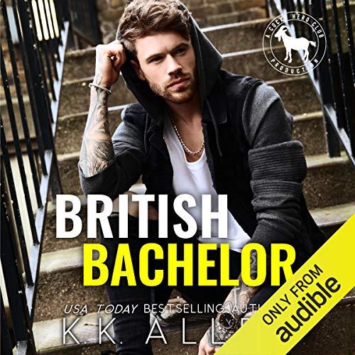 British Bachelor Audiobook By K.K. Allen, Hero Club cover art