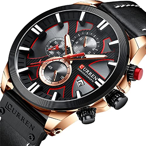 Legxaomi Reloj de los hombres, reloj de cuarzo de la manera de los hombres militares impermeable reloj deportivo reloj de la fecha Relogio masculino, el mejor regalo para los hombres blackroseblack