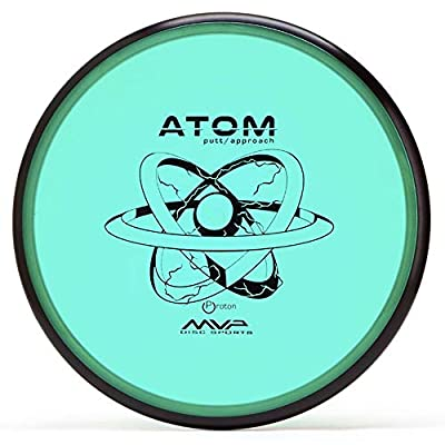 MVP Disc Sports Proton Atom Disc Golf Putter (170-175g / Colors May Vary)
