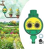 RoseFlower Programador Riego Jardin Temporizador, Temporizador de Riego Automatico Controlador de riego electrónico Computadora de riego para Jardín Hierba Planta de Invernadero#1