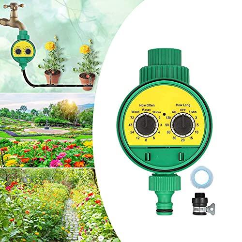 RoseFlower Timer da Irrigazione, Centralina Irrigazione per Irrigazione Automatica, Programmatore Digitale Computer da Irrigazione per All aperto Giardino & Prato Irrigazione