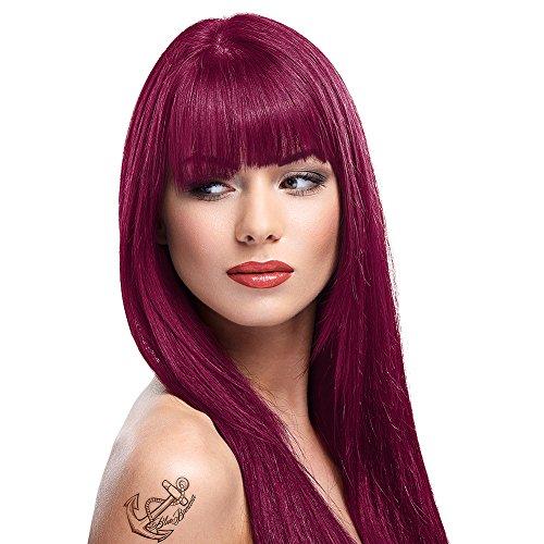 2 x La Riche Directions Semi-Permanent Hair Color 88ml Tubs - RUBINE