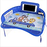 Baby Car Tray Plates Portable Portable Dining Drink Drink Table Para Niños Asiento De Coche Child Cartoon Toy Holder Storage Baby Fence3