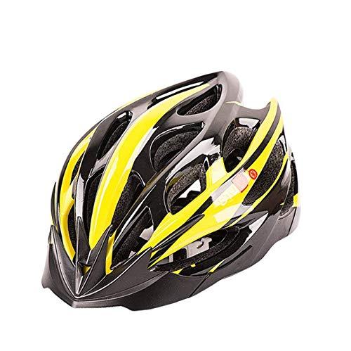 WangsCanis Casco da Bicicletta per Adulti, Protezione Regolabile per Mountain Bike e Strada