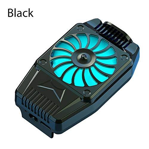 Handy-Kühler USB-betriebenes Snap-On-Kühlwerkzeug, Physikalische Kühlung Und Luftkühlung des Hinteren Clips, Geeignet Für 4-Zoll- Bis 6,7-Zoll-Mobiltelefone