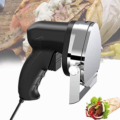 HYDDG Kebab Slicer Cutter, Handheld Wireless Electric Kebab Fleischschneider, Professional Electric Kebab Knife für Lamm, Schweinefleisch und Hühnchen