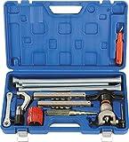 GASMOBE Kit herramientas tubos de 13Piezas: AB806A abocarda: 1/4', 5/16', 3/8', 1/2', 5/8' y 3/4' o...