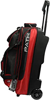 Pyramid Path Triple Premium Deluxe Roller with 5 Accessory Pockets Bowling Bag