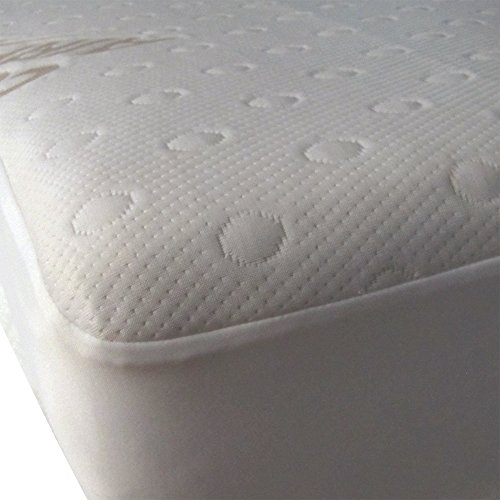 40 Winks Airflow Moisture Wick Breathable Waterproof Mattress Pad Protector, Natural, Twin