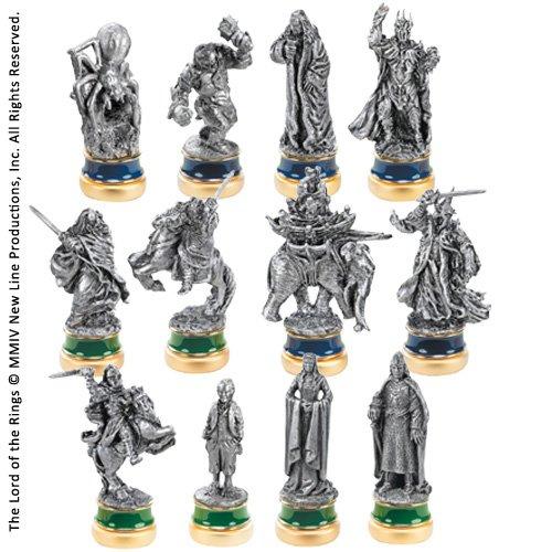 Seigneur des Anneaux - Jeu d'échecs - Pièces Le retour du Roi