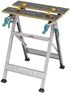 Wolfcraft MASTER 200 Spann- und Arbeitstisch 6177000 - klappbar/Universell einsetzbarer & robuster Werktisch/Ideal für Hei...