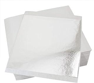 Zefffka confezione da 100/fogli argento foglia imitazione di alta qualit/à 14/x 14/cm